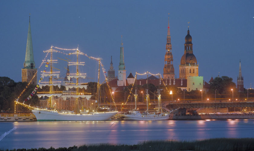 Riga – Icy Baltic air that cools fiery party atmosphere