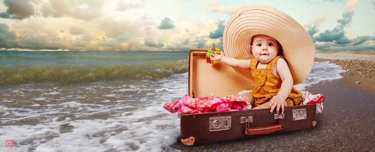 Tips and Tricks to Keep in Mind While Travelling with Baby!