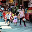 Taiwan, Kids, Children, Asian, People, Walk, Tour