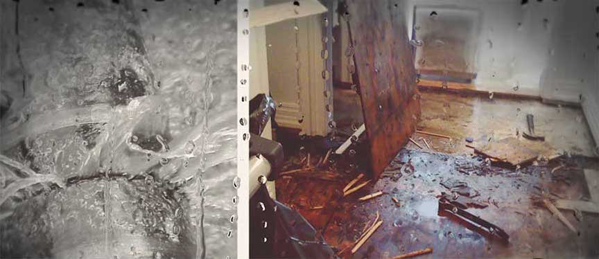 What to do when there is Water Damage in your house?