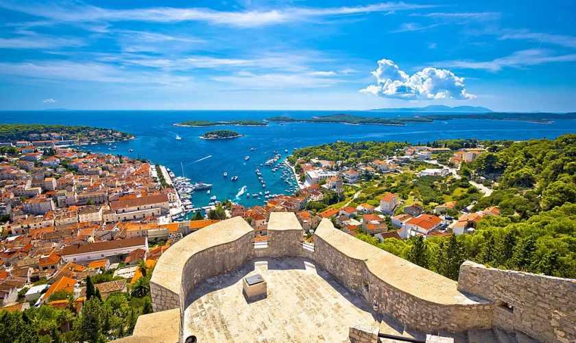 Visiting ancient cities in Dalmatia